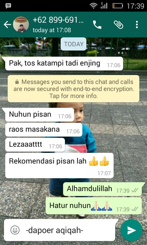 Testimoni 12 Desember 2016