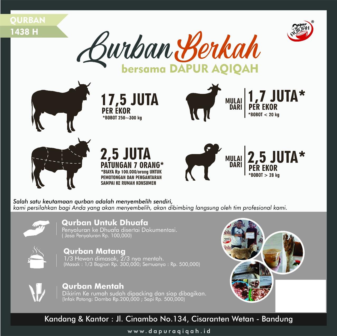 Jual Kambing Qurban Bandung