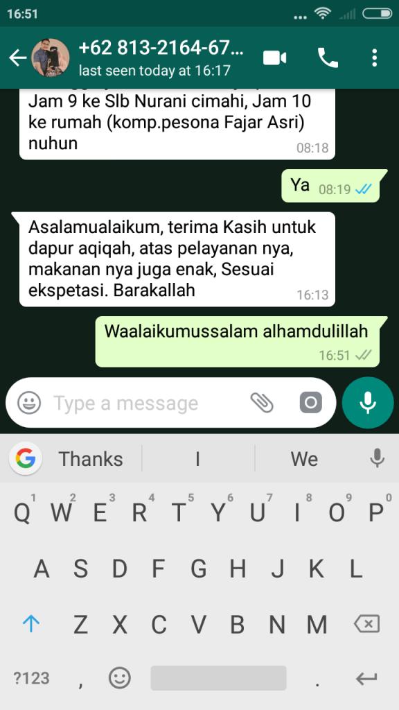Testimoni 17 November 2018
