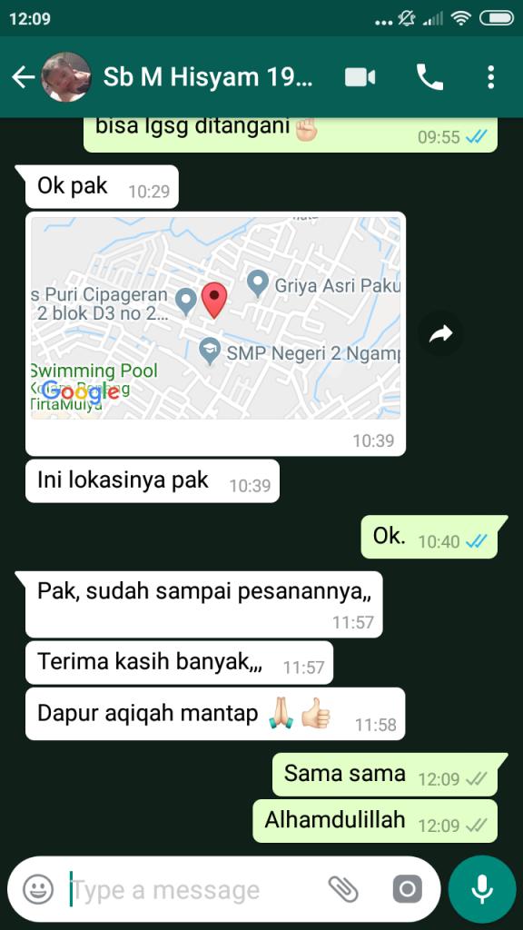 Pusat Aqiqah Bandung Murah 2019